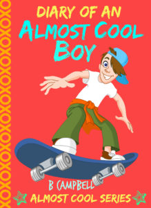 almost cool boy English cover large