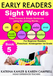 SIGHT WORDS BOOK 5 cover small