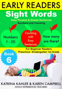 Sight Words book 6