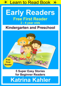 early readersfree intro book cover