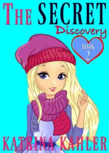 Blonde Girl In Winter Forest