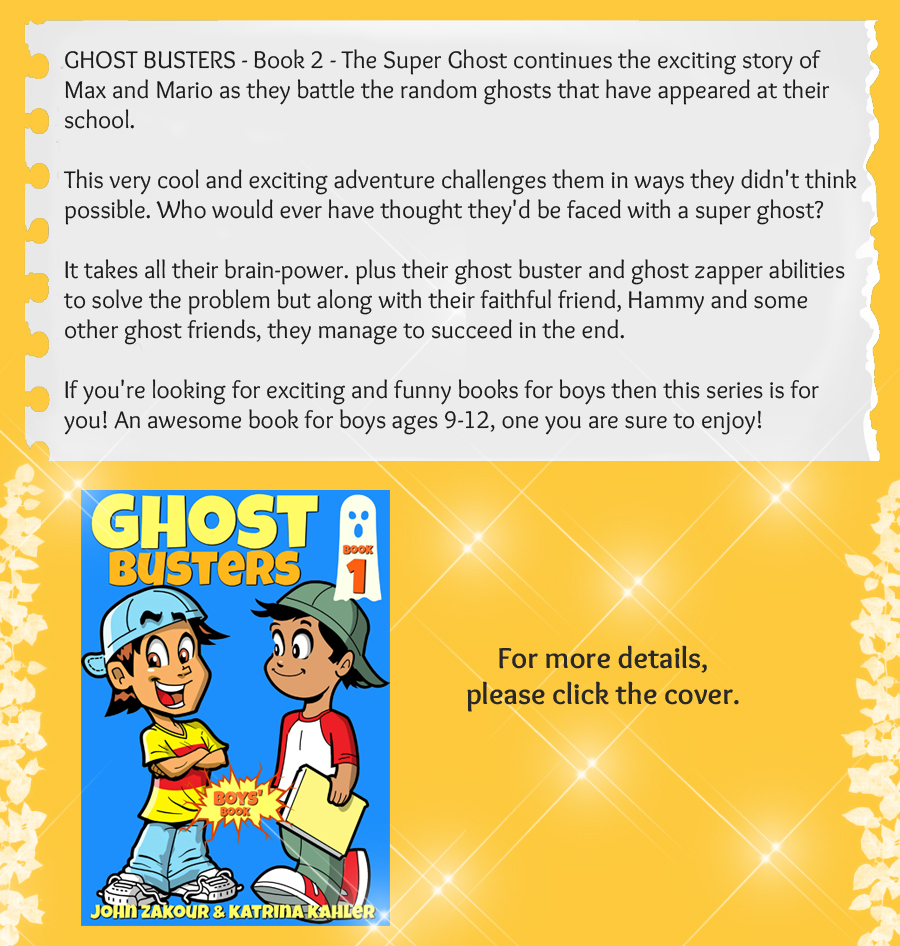 Ghost Buster 1 Boys