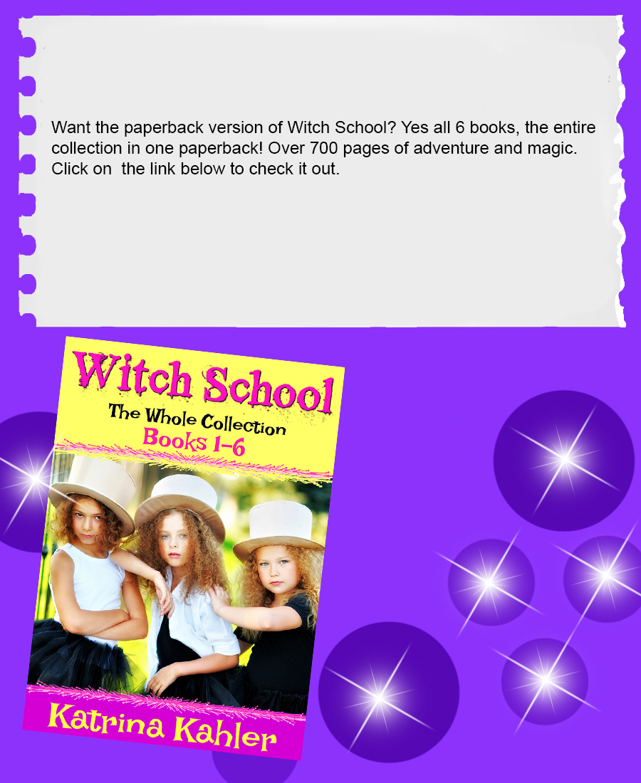 witch 1 - 6 paperback